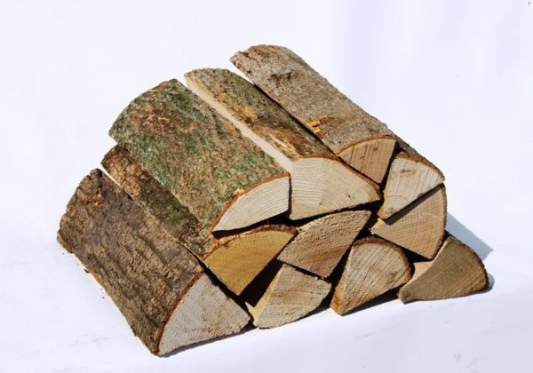 Kiln dried ash logs