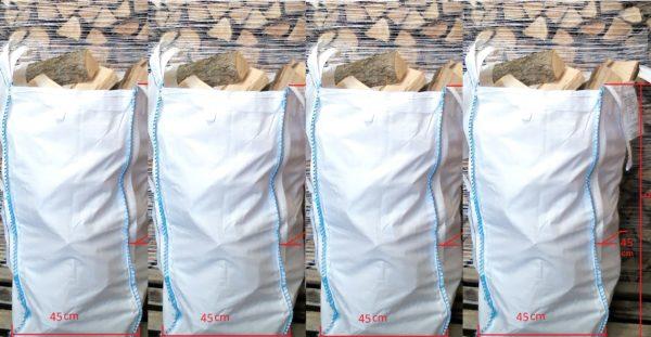Four barrow bags of kiln dried logs